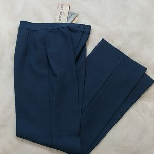 Vintage high waisted pleated ladies trousers